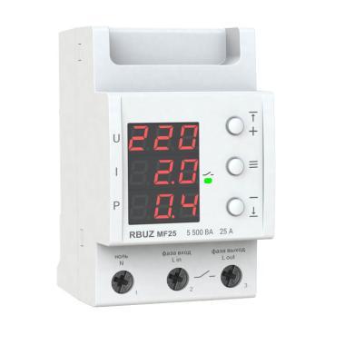 Многофункциональное реле - RBUZ MF 25 (25 А, 0.1 - 5.5 кВт)