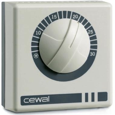 Терморегулятор - CEWAL RQ-10 (16 А, 3.5 КВТ)