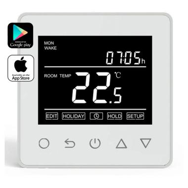 Терморегулятор - ThermoLife ET-61W (16 А, 3.5 кВт, Wi-Fi)