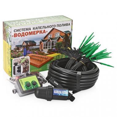 Автоматический капельный полив - Водомерка (от бочки или водопровода, на 40 растений)