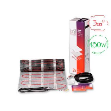 Комплект теплого пола (мат) - Ergert BASIC-150 (450W / 3 м²)