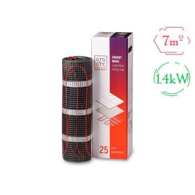 Комплект теплого пола (мат) - Ergert BASIC-200 (1400W / 7 м²)