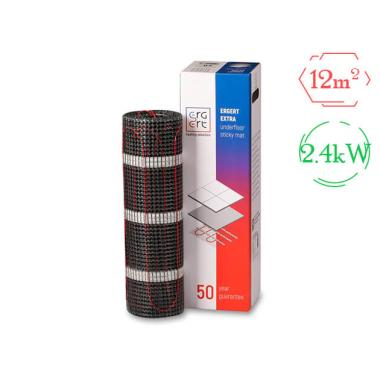 Комплект теплого пола (мат) - Ergert EXTRA-200 (2400W / 12 м²)