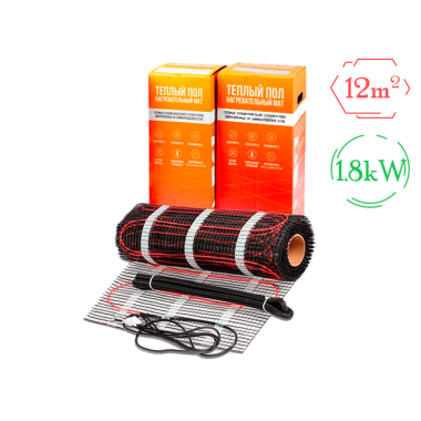 Нагревательный мат - Stich HM-1800 (12 м2)