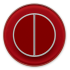Клавишный выключатель для управления двумя зонами освещения DeLUMO RONDA