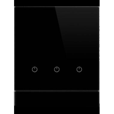 Сенсорный выключатель для управления тремя зонами освещения DeLUMO SENSO