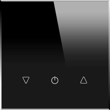 Одноканальный трехклавишный сенсорный радиопульт DeLUMO SENSO