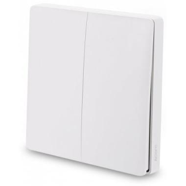 Беспроводной выключатель света Xiaomi Aqara Smart Light Control двойной