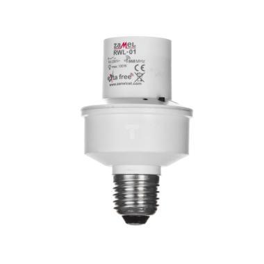 Приемник выключатель освещения под лампы E27 Zamel Exta Free