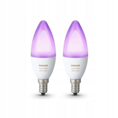 Комплект умных ламп Philips Hue White and Color ambiance E14