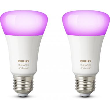 Комплект умных ламп Philips Hue White and Color ambiance E27