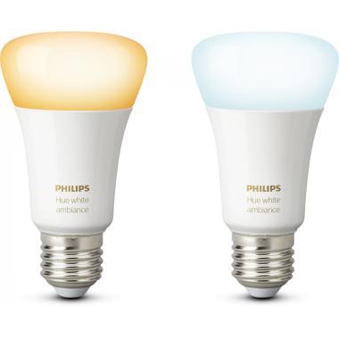 Комплект умных ламп Philips Hue White ambiance E27