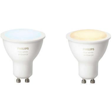 Комплект умных ламп Philips Hue White ambiance GU10