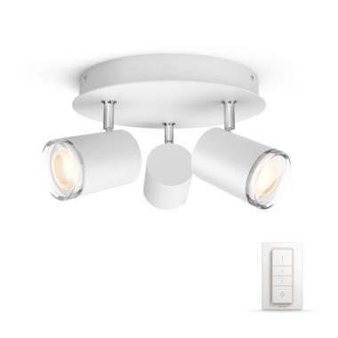Потолочный светильник - Philips Adore Hue (3 лампы GU10)
