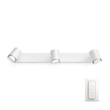 Настенный светильник - Philips Adore HUE (3 лампы GU10)
