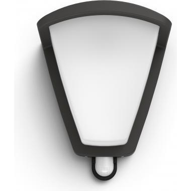 Настенный уличный светильник с датчиком движения Philips Kiskadee IR