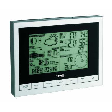 Профессиональная цифровая метеостанция TFA 35.1095