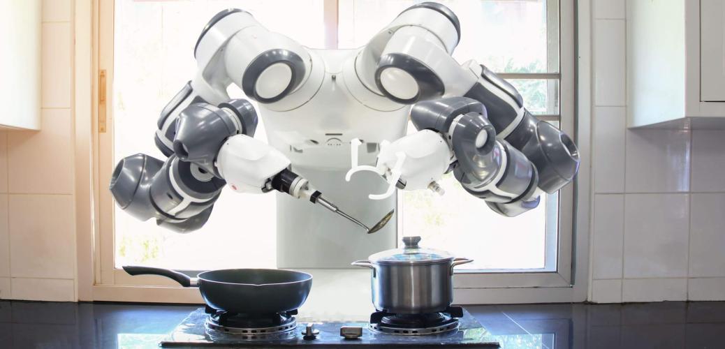 В одном доме с роботами