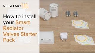Установка комплекта Netatmo Smart Radiator