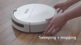Review Xiaomi XiaoWa New Smart Robot Vacuum Cleaner Test - Price
