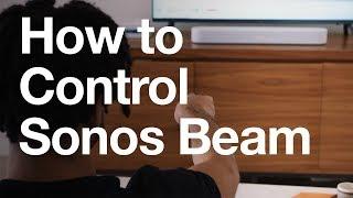 How to Control Sonos Beam