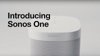 Introducing Sonos One