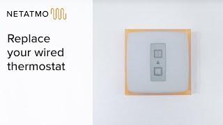 Подключение умного термостата Netatmo Smart Thermostat