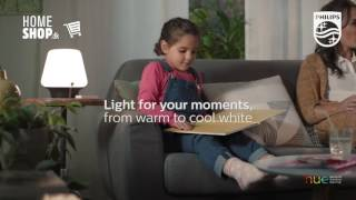 Philips White Ambience Table Lamp