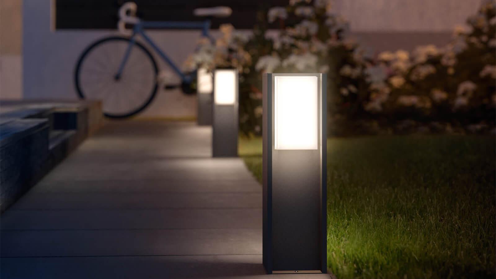 умный светильник для улицы